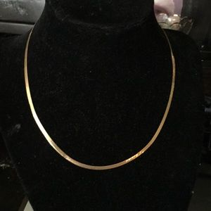 Jewelry - 14k herringbone necklace